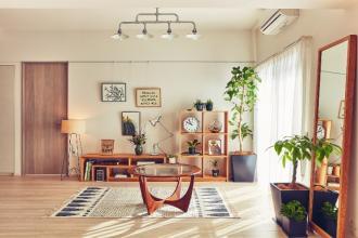 リノベーション×インテリアで好きと暮らす家づくり、モダンボタニカルスタイル