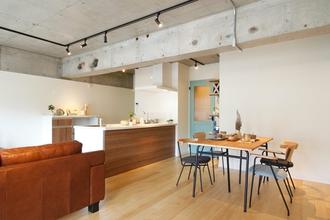 ひかリノベ ~リノベープラン~① ◆空色の自転車が似合う部屋◆