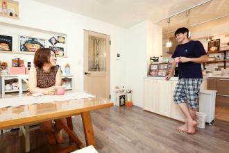 ひかリノベ ~リノベプラン~㉚ ◆パステルで描くふたりの家◆
