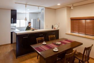 日本建築の美を活かしながら、機能性と意匠性を高めた住まい。