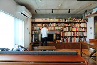本と暮らす家