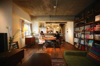 こだわりの場所に、好みの間取り&デザインの家を実現 (マンション)