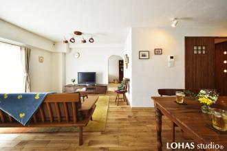 近居で叶える、憧れの雑貨屋さんみたいな家。広くなったスペースでホームパーティ!