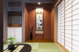 2階南向きの部屋をLDの吹抜けにして、通風も採光も良好の住まい。
