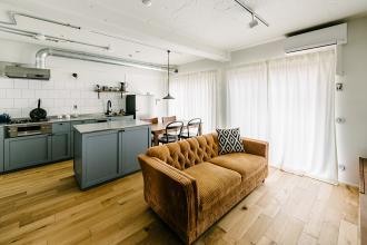 キッチンが主役な40平米。オトナのひとり住まい