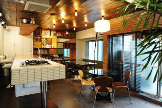 築20年の1LDKをカフェ風オフィスにリノベーション!